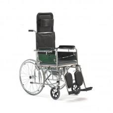 Кресло-коляска с сан. оснащ-ем FS619
