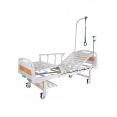 Кровать механическая с полкой и столиком